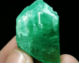 Amazing Damage free Lovely color DT Hiddenite Kunzite crystal 81 Cts-A