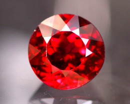 Rhodolite 3.09Ct Natural VVS Cherry Red Rhodolite Garnet E2609
