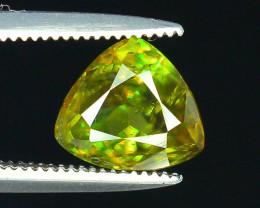 AAA Color 1.45 ct Chrome Sphene from Himalayan Range Skardu Pakistan