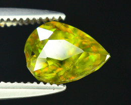 AAA Color 1.10 ct Chrome Sphene from Himalayan Range Skardu Pakistan