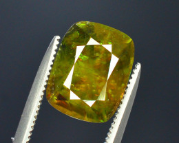 AAA Color 3.50 ct Chrome Sphene from Himalayan Range Skardu Pakistan