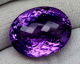 53CT NATURAL AMETHYST GEMSTONES IGCAMTH06