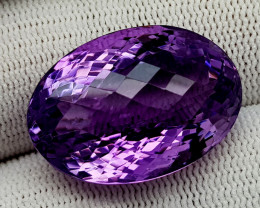 35CT NATURAL AMETHYST GEMSTONES IGCAMTH28