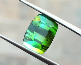 4.50 Ct Natural Green Transparent Tourmaline Gemstone