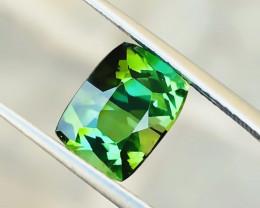 2.70 Ct Natural Greenish Yellow Transparent Tourmaline Gemstone