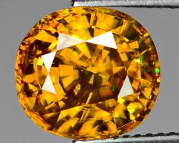 BLACK FRIDAY Mind Blowing Fire 5.60 Cts Chrome Sphene ~ CS1