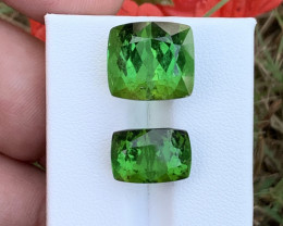22 .35 carats green colour Tourmaline Gemstone From Afghanistan