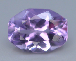 Top Color 5.0 ct AAA Cut Untreated Amethyst
