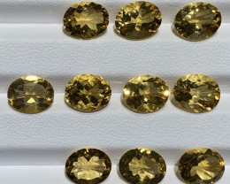 22.43 Carats Citrine  Gemstones parcel