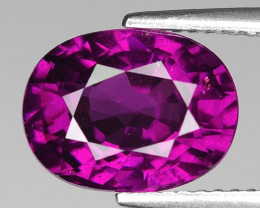 Rare 4.93 Cts Gorgeous Color Grape- Purple Garnet  ~ Mozambique PG32