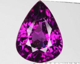Rare 4.26 Cts Gorgeous Color Royal Purple Garnet  ~ Mozambique PG33