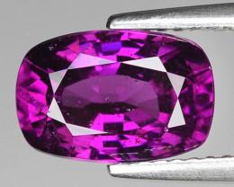 Rare 3.38 Cts Gorgeous Color Grape- Purple Garnet  ~ Mozambique PG40