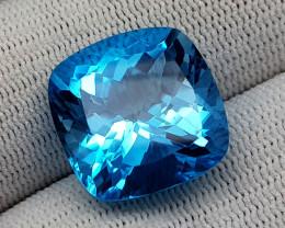 24.75 CT BLUE TOPAZ  BEST QUALITY GEMSTONE IIGC61