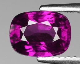 Rare 2.13 Cts Gorgeous Color Grape- Purple Garnet  ~ Mozambique PG49