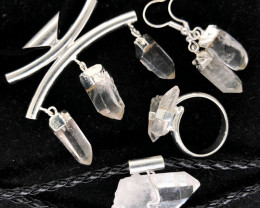Crystal Lovers Five Piece Jewelry Set - BR 1200