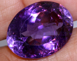 22.84 CTS AMETHYST FACETED STONE CG-2379