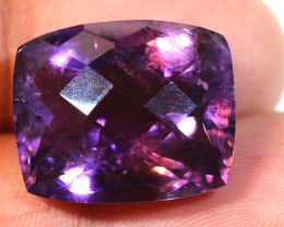 25.65 CTS AMETHYST FACETED STONE CG-2397