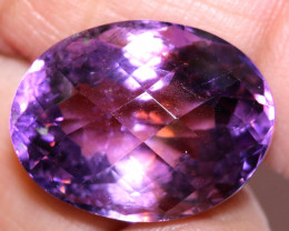 16.68 CTS AMETHYST FACETED STONE CG-2411