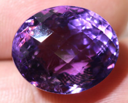21.14 CTS AMETHYST FACETED STONE CG-2413