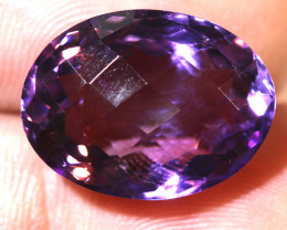 15.38 CTS AMETHYST FACETED STONE CG-2416