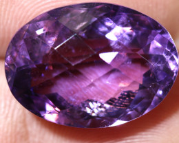 18.48  CTS AMETHYST FACETED STONE CG-2423