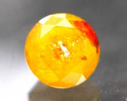 Diamond 0.46Ct Natural Fancy Orange Color Diamond 23CF37