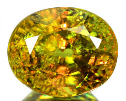 1.37 Cts Untreated Color Changing Natural Demantoid Garnet Gemstone