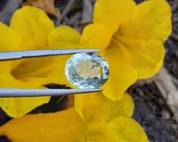 4.11 Cts Natural  Aquamrine  Gems.