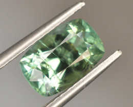 Top Color 2.0 ct Natural Green Color Tourmaline ~ A S