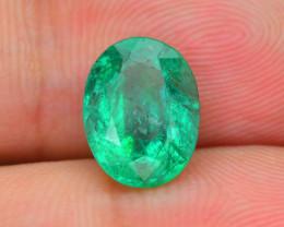 2.12 ct Zambian Emerald Vivid Green Color SKU-30