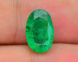 AIG Certified Top Grade 2.88 ct Zambian Emerald SKU-32