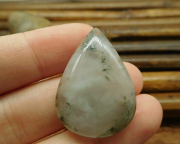 African bloodstone cabochon gemstone (G1503)