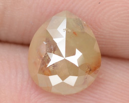 1.35 Cts UNTREATED FANCY BROWNISH YELLOW COLOR NATURAL LOOSE DIAMOND