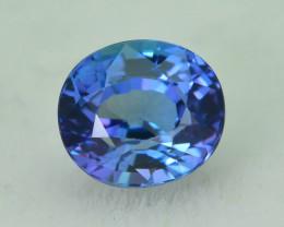 AAA Grade 1.04 ct Tanzanite eye catching Color SKU.18