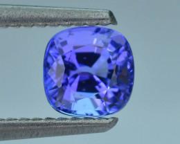AAA Grade 1.10 ct Tanzanite eye catching Color SKU.18