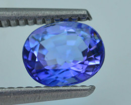 AAA Grade 1.47 ct Tanzanite eye catching Color SKU.18