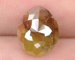 1.88 Cts NATURAL FANCY GREENISH YELLOW RED NATURAL LOOSE DIAMOND
