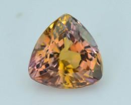 1.06 ct Pinkish Orange Tanzanite eye catching Color SKU.19