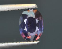 Color Change Sapphire 1.38 ct Unheated Sri Lanka SKU.23