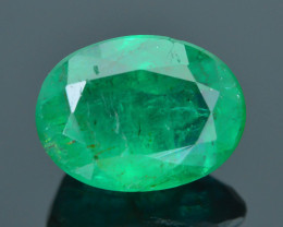 AIG Certified Top Grade 3.58 ct Zambian Emerald SKU-32