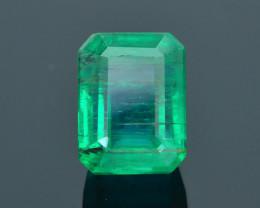 AIG Certified Top Grade 3.35 ct Zambian Emerald SKU-32