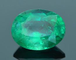Top Grade 3.03 ct Zambian Emerald SKU-31