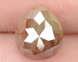 1.25 Cts NATURAL FANCY GREYISH RED NATURAL LOOSE DIAMOND