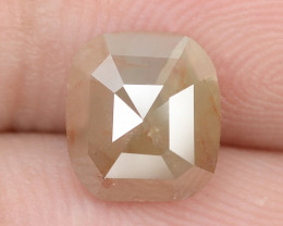 1.38 Cts Natural Fancy Greyish Red Natural Loose Diamond