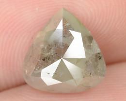 2.15 Cts Natural Fancy Grey Natural Loose Diamond