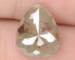 1.82 Cts NATURAL FANCY GRAYISH RED NATURAL LOOSE DIAMOND