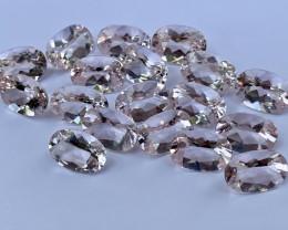 64.96 Carats Morganite Gemstones parcels