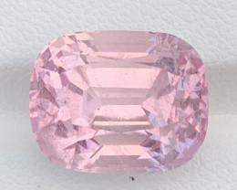 GFCO Certified 14.30 Carats Pink Topaz Gemstones Katlang Mine From Pakistan
