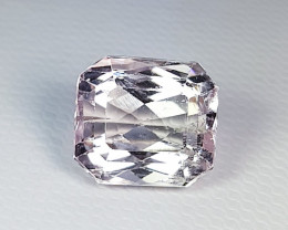 6.75 Top Quality  Stunning Octagon Cut Natural Pink Kunzite