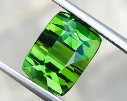 4.55 Ct Natural Greenish Transparent Ring Size Tourmaline Gemstone